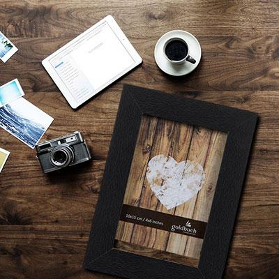 Rustikaler Holzrahmen von Goldbuch