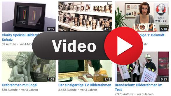 Videos zum Thema Bilderrahmen