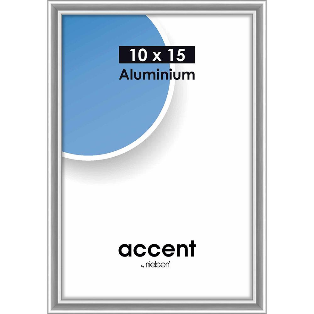 Alurahmen Accent Silber glanz 10x15 cm