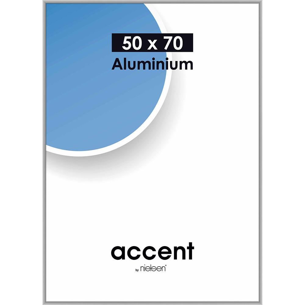 Alurahmen Accent Silber matt 50x70 cm