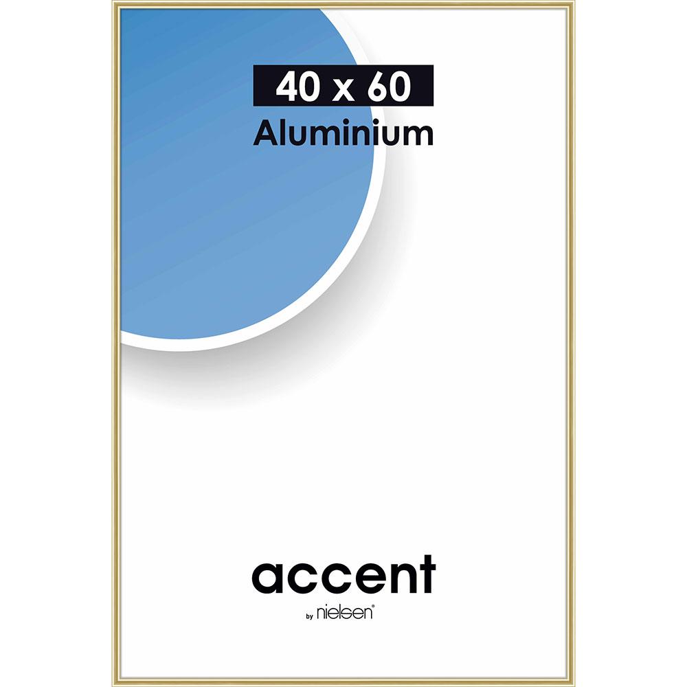 Alurahmen Accent Gold glanz 40x60 cm