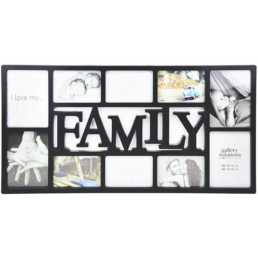 Accent Collage-Bilderrahmen Family 6x 10x15 cm, 4x 13x18 cm - Set ...