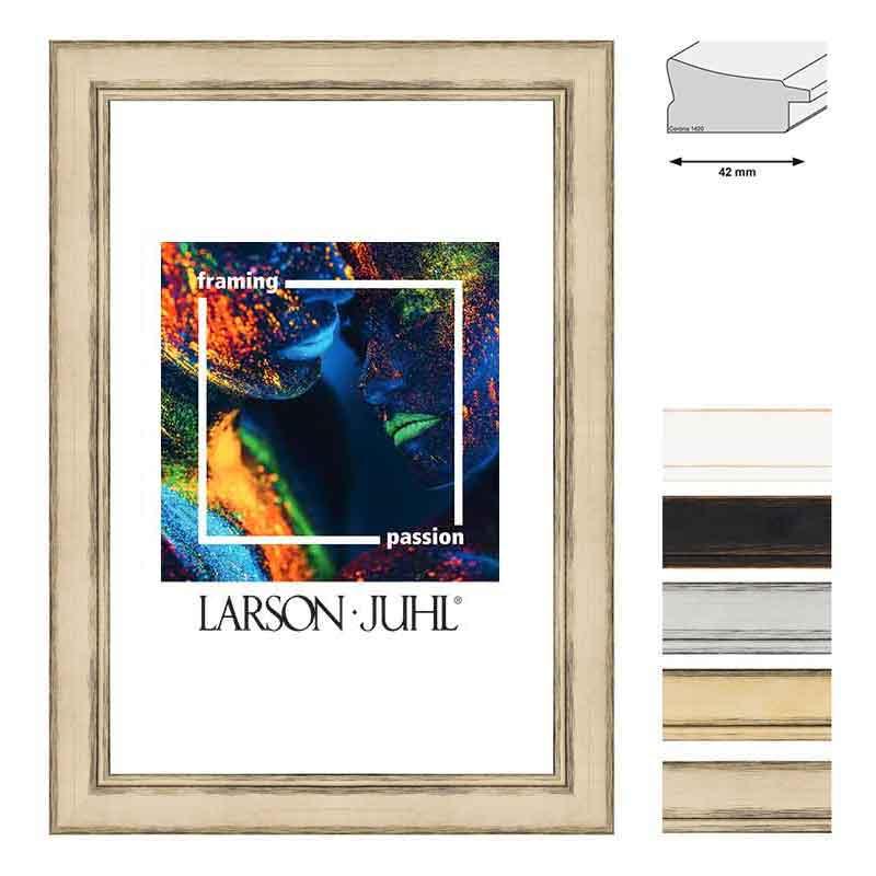 Aicham-Larson-Juhl Holz-Bilderrahmen Corona 42 60x80 cm - Weiß ...