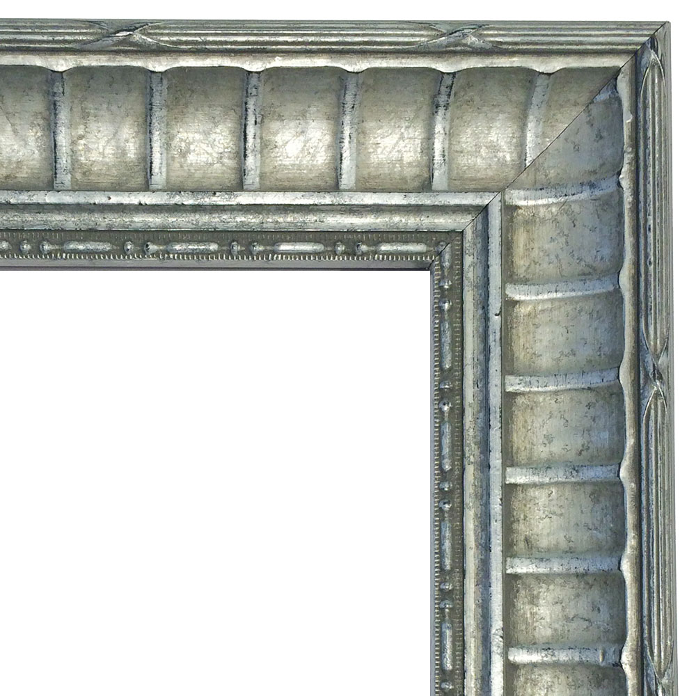 Holz-Bilderrahmen CHATEAU 461 Silber
