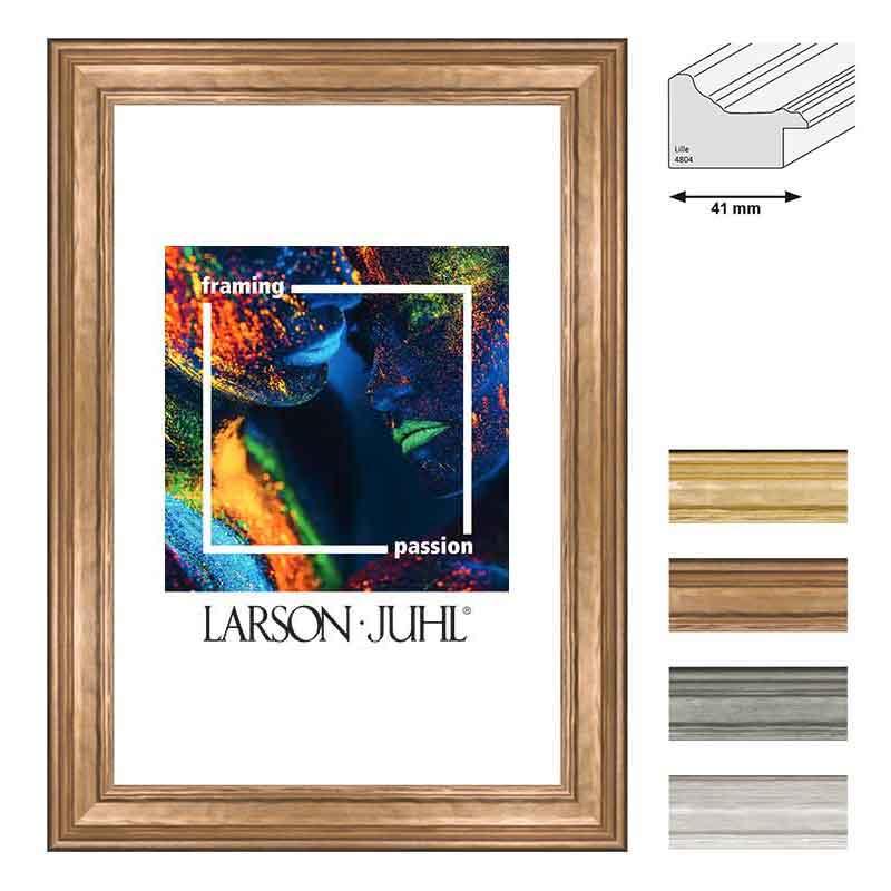 aicham larson juhl holz bilderrahmen lille 41 30x40 cm gold. Black Bedroom Furniture Sets. Home Design Ideas