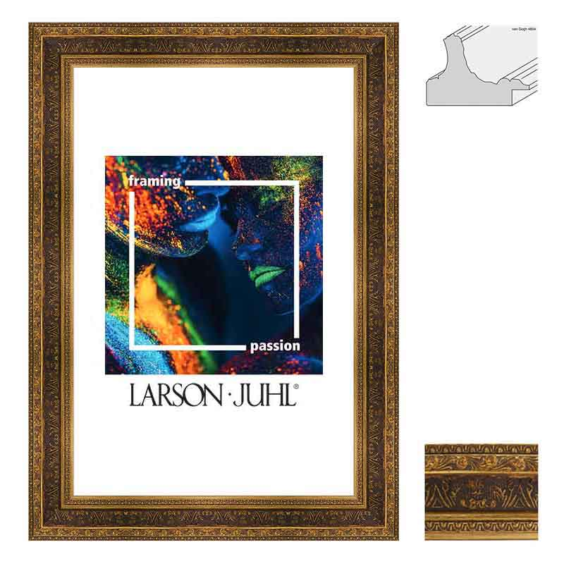 Holz-Bilderrahmen Van Gogh 6,2 - Sonderzuschnitt