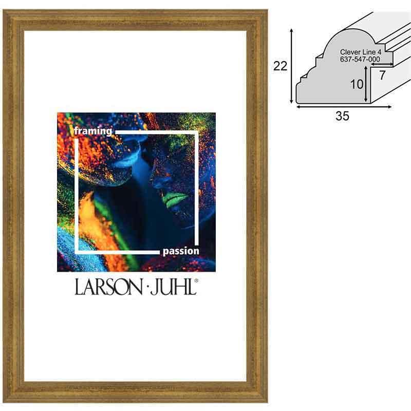 Aicham-Larson-Juhl Holz-Bilderrahmen Clever Line 4 - 3,5 50x70 cm ...