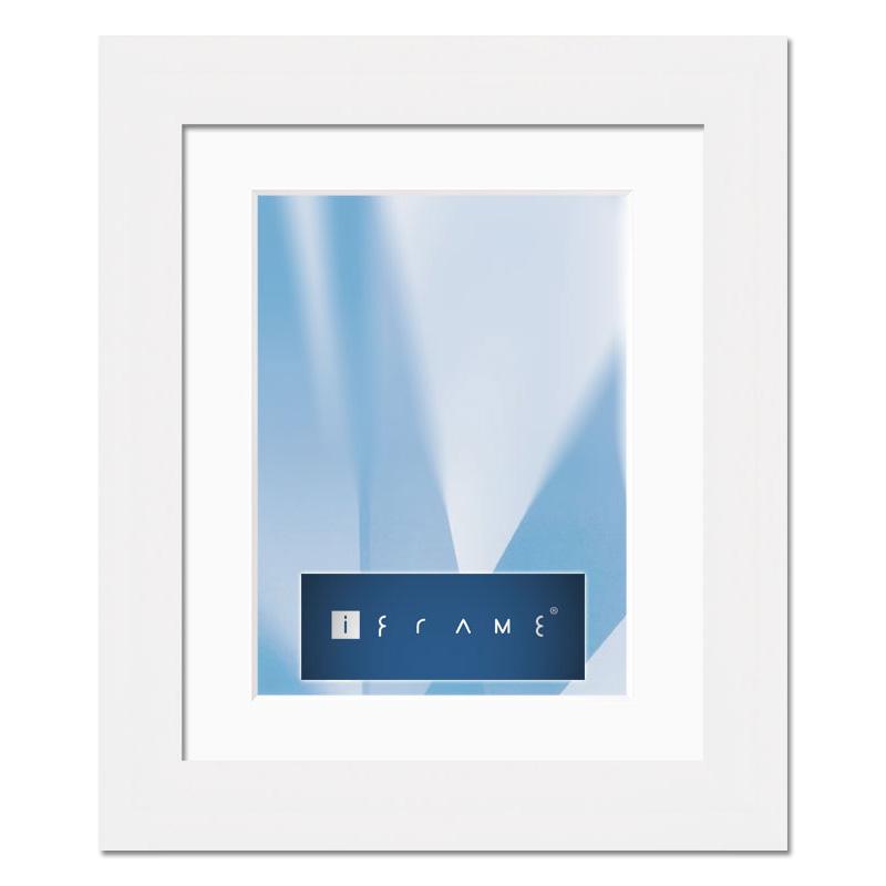 aicham larson juhl iframe holz wechselrahmen pure ii 50x60 cm wei. Black Bedroom Furniture Sets. Home Design Ideas