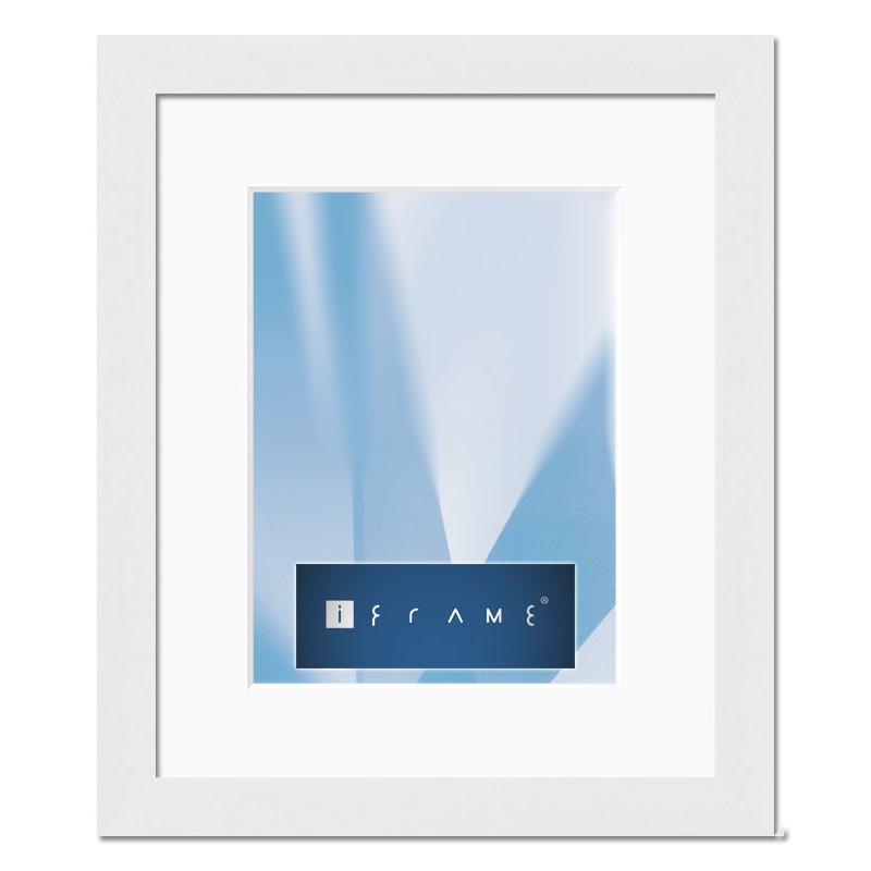 aicham larson juhl iframe holz wechselrahmen stuttgart 70x100 cm wei auf natur. Black Bedroom Furniture Sets. Home Design Ideas