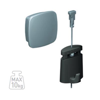 Uniq Hanger + Stahlseil Twister + Micro Grip