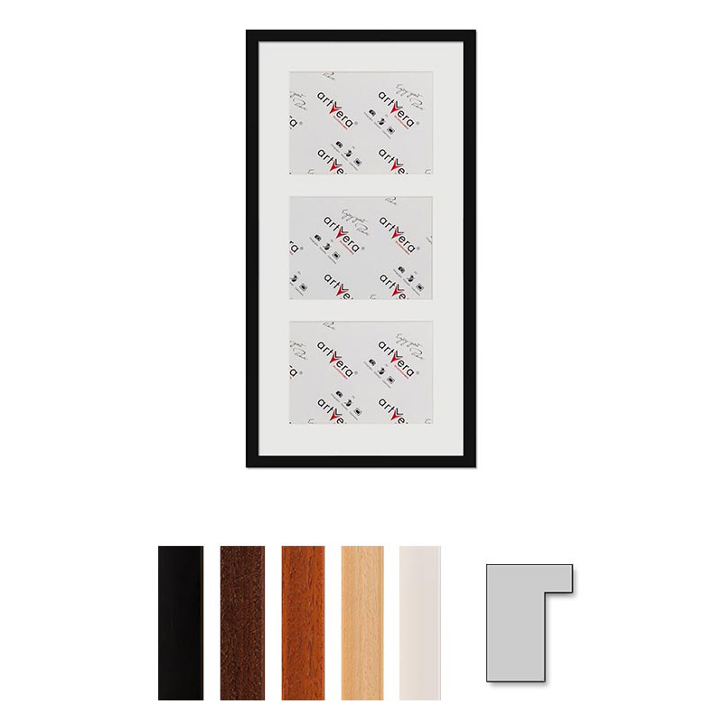 "3er Galerierahmen ""Lund"", 30x60 cm - 15x20 cm"