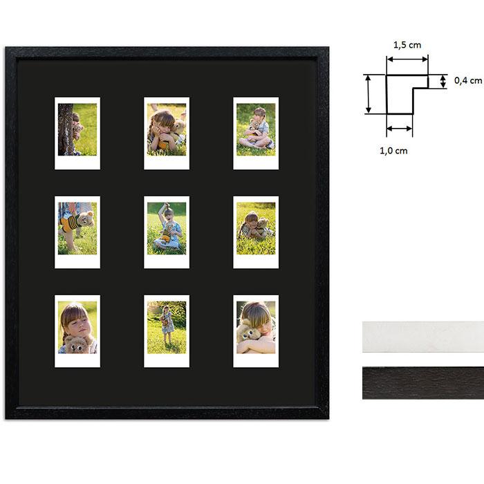 Bilderrahmen für 9 Sofortbilder - Typ Instax Mini