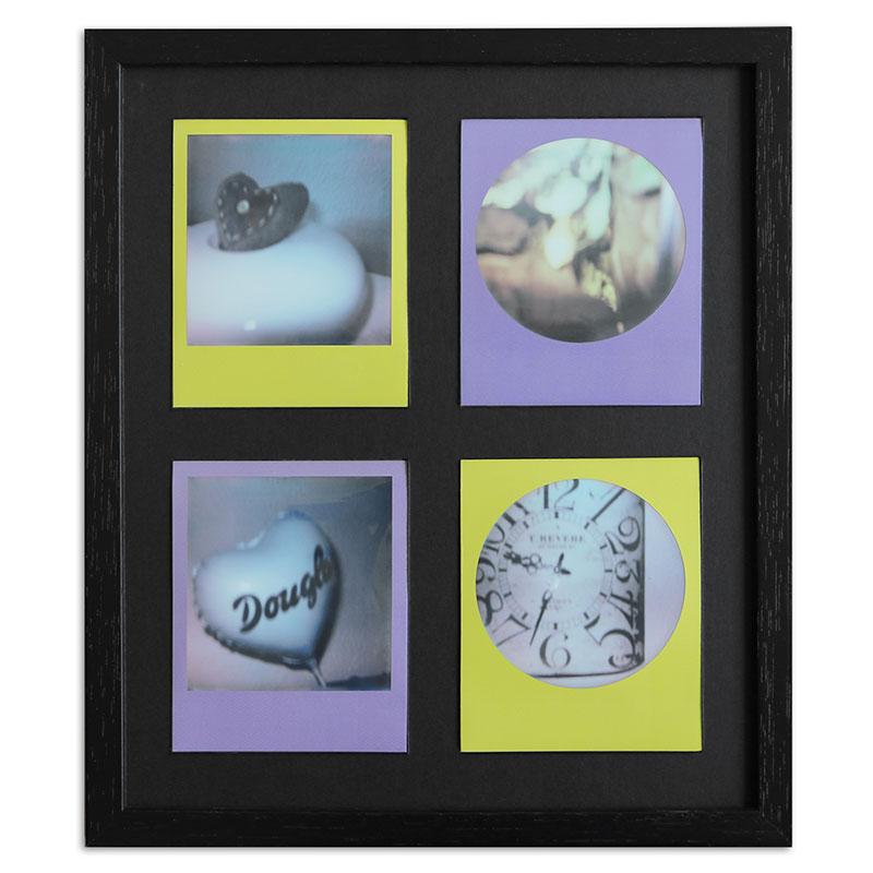 Artvera-Bilderrahmen Bilderrahmen für 4 Sofortbilder - Typ Polaroid ...