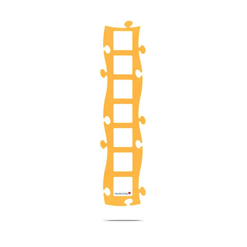 Puzzle Rahmen gelb