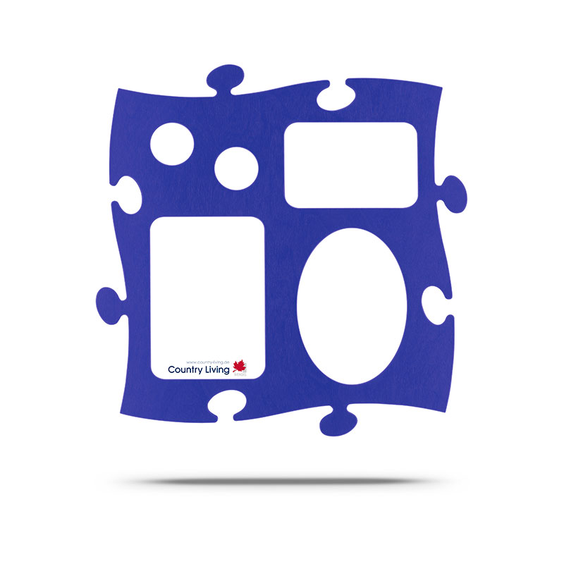 Puzzle Galerie blau