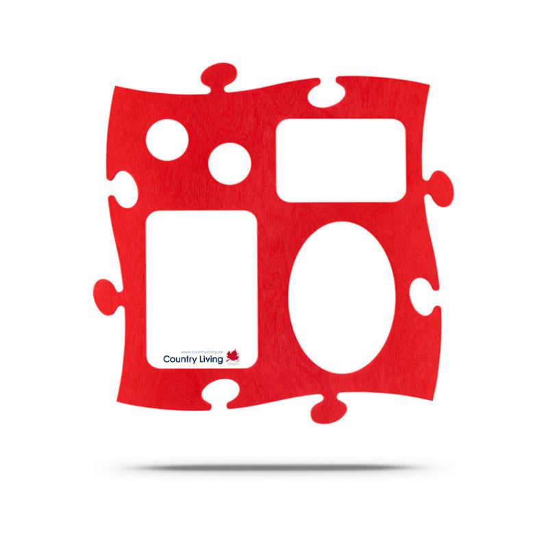 Puzzle Galerie rot