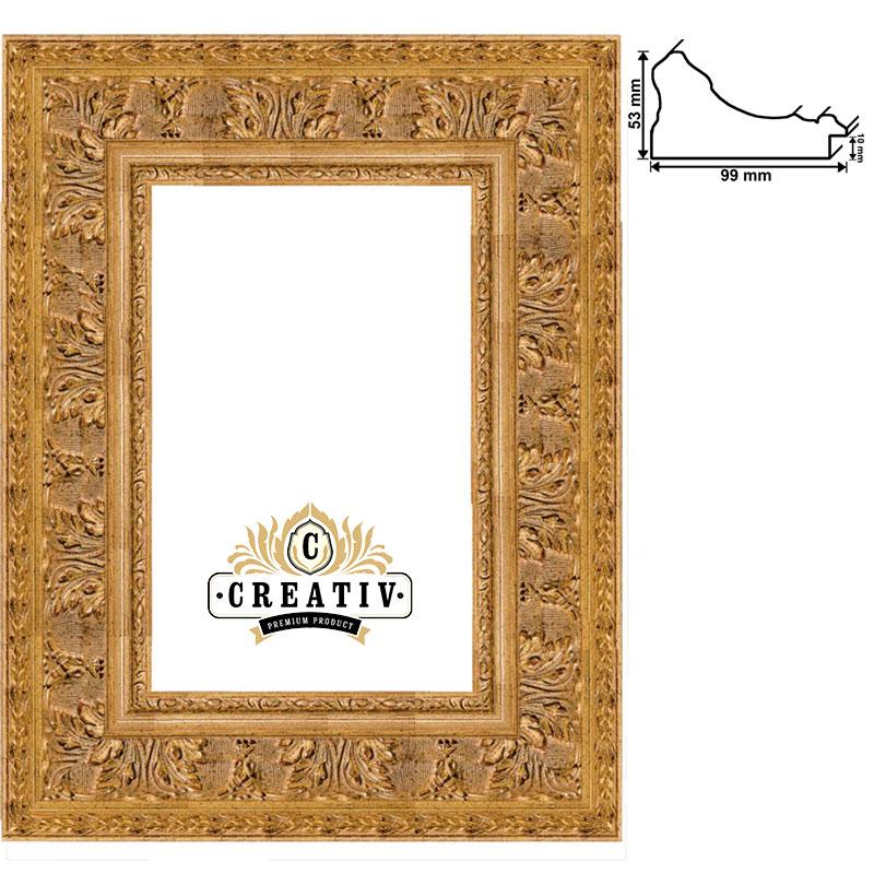 Barock-Bilderrahmen Grosseto Maßanfertigung