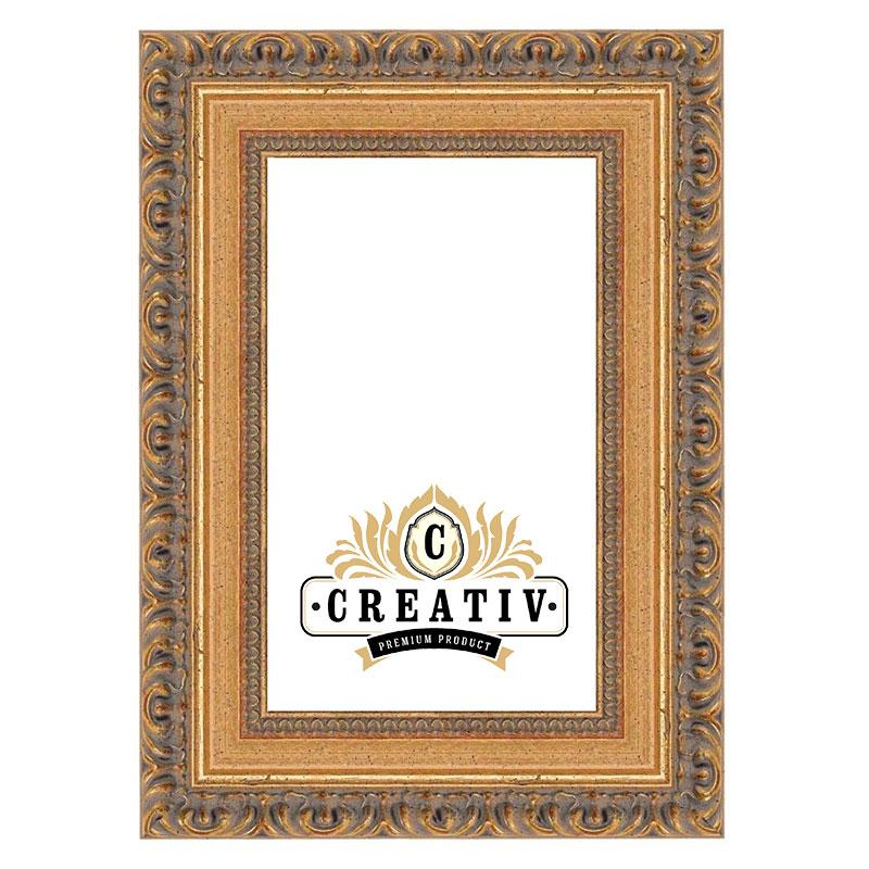 Barock-Bilderrahmen Cremona gold