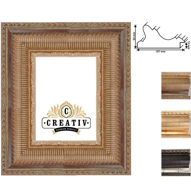 Barock Holzbilderrahmen Forli