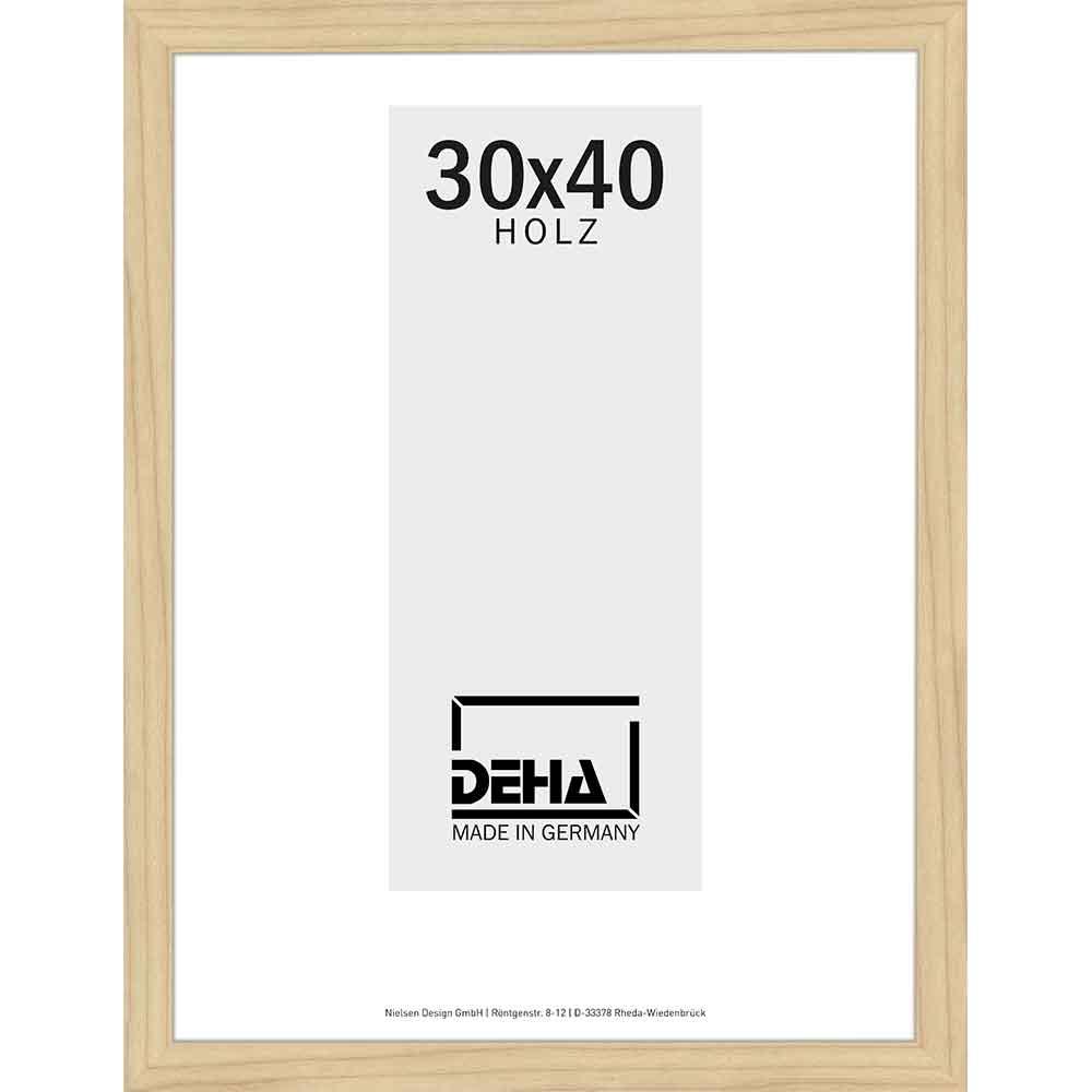 deha distanz holzrahmen zibal 20x28 cm ahorn natur lasiert. Black Bedroom Furniture Sets. Home Design Ideas