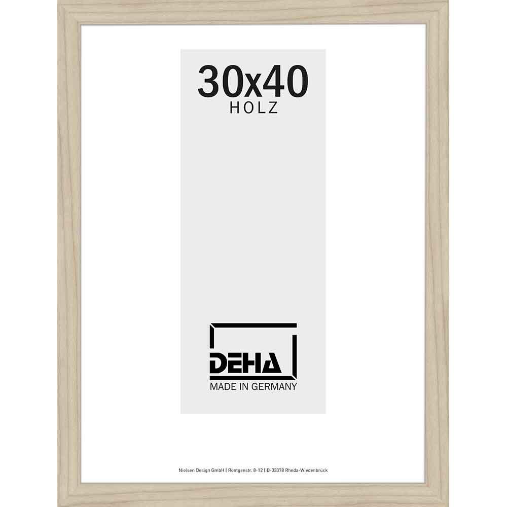 deha distanz holzrahmen zibal 28x35 cm ahorn natur unbehandelt. Black Bedroom Furniture Sets. Home Design Ideas