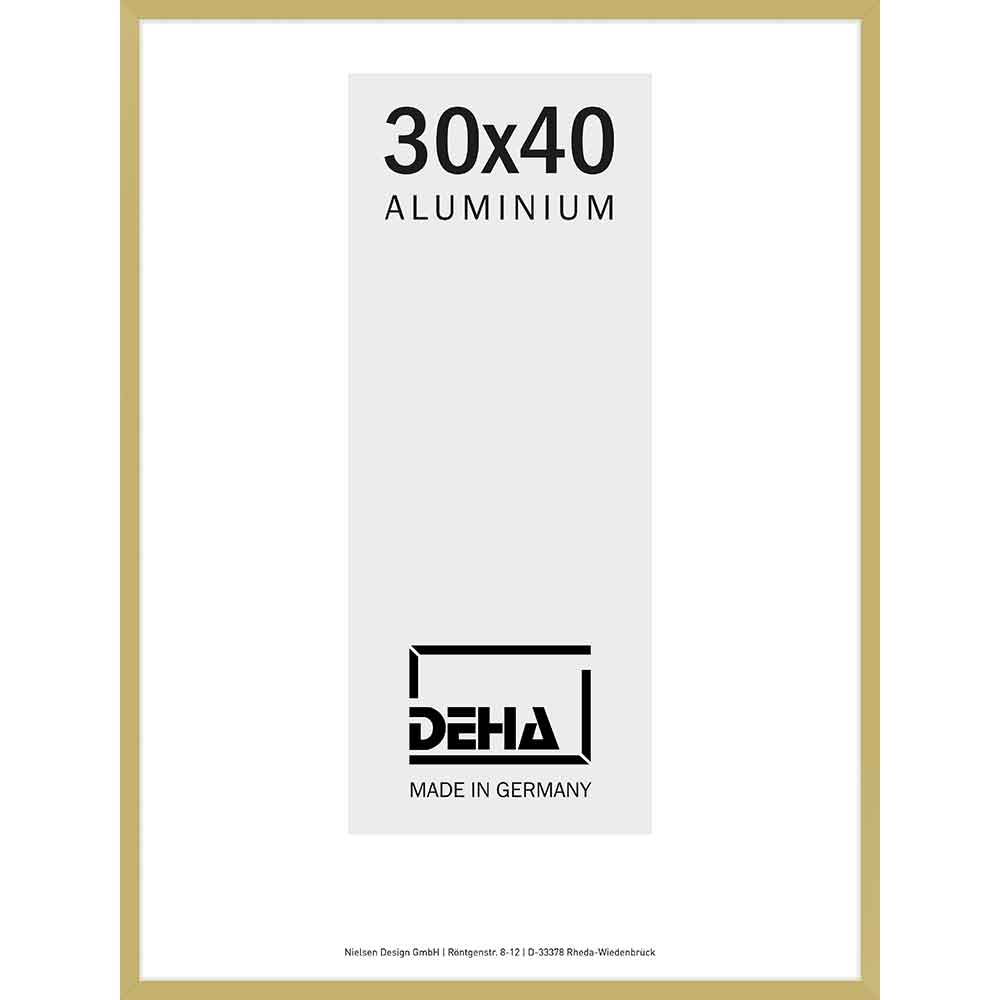 Alurahmen Vega Gold matt