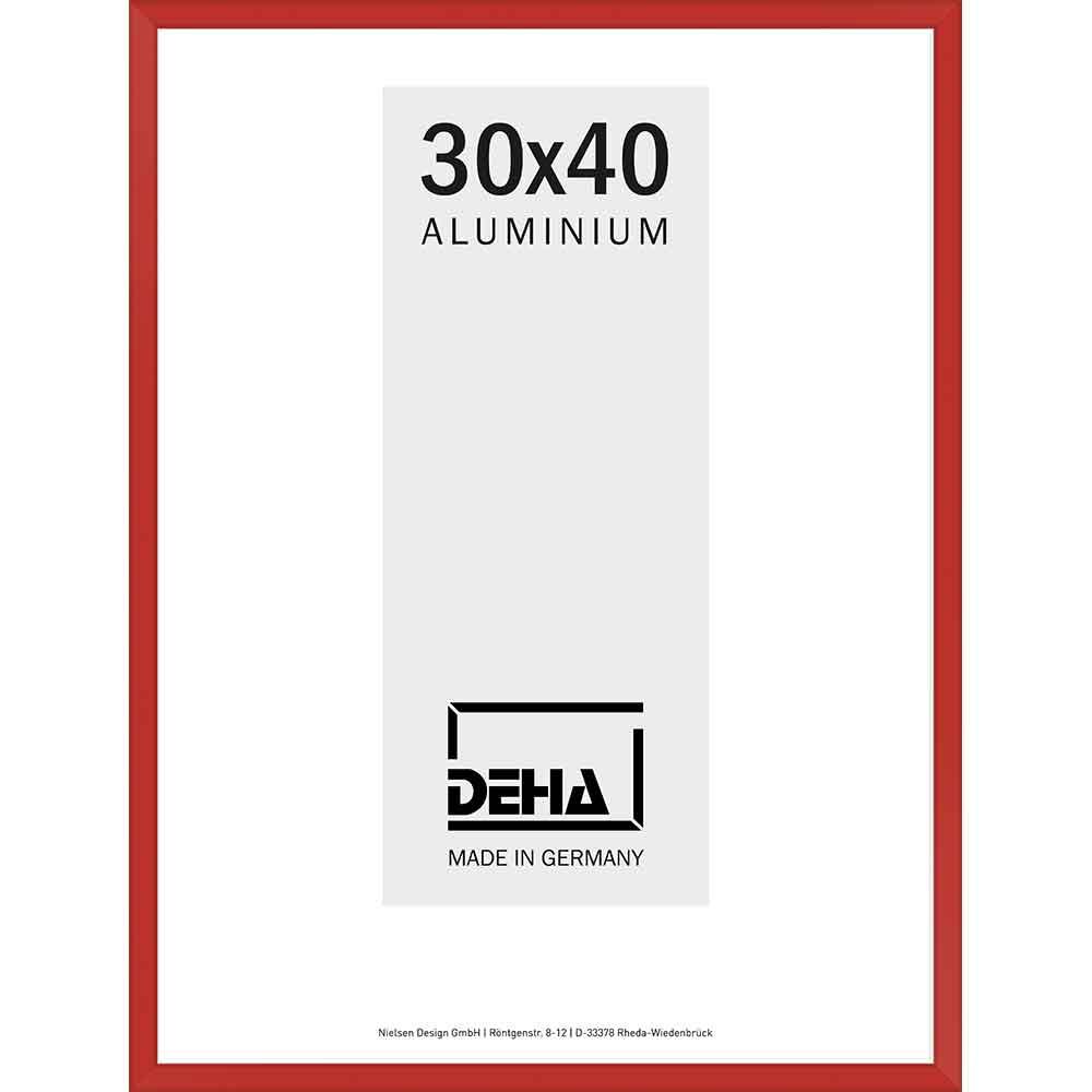 Alurahmen Atria Sonderzuschnitt Karminrot 3002
