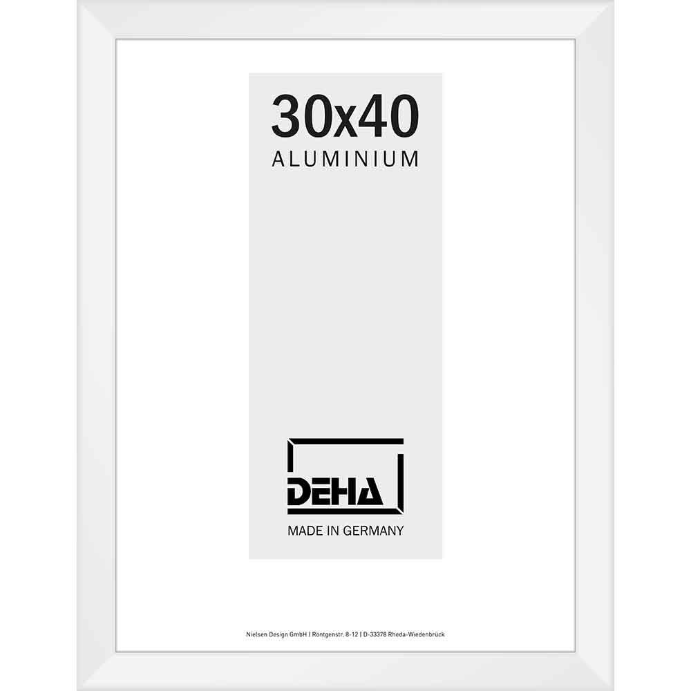 Distanz-Alurahmen Spika Weiß 9016