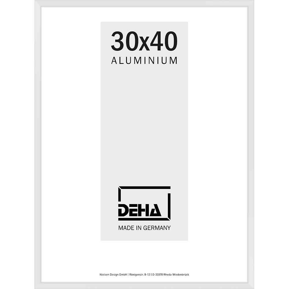 Alurahmen Superba Weiß 9016