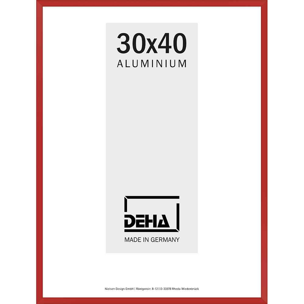 Alurahmen Superba Sonderzuschnitt Karminrot 3002