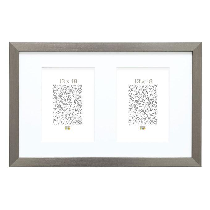 2er-Galerierahmen Vorselaar Silber