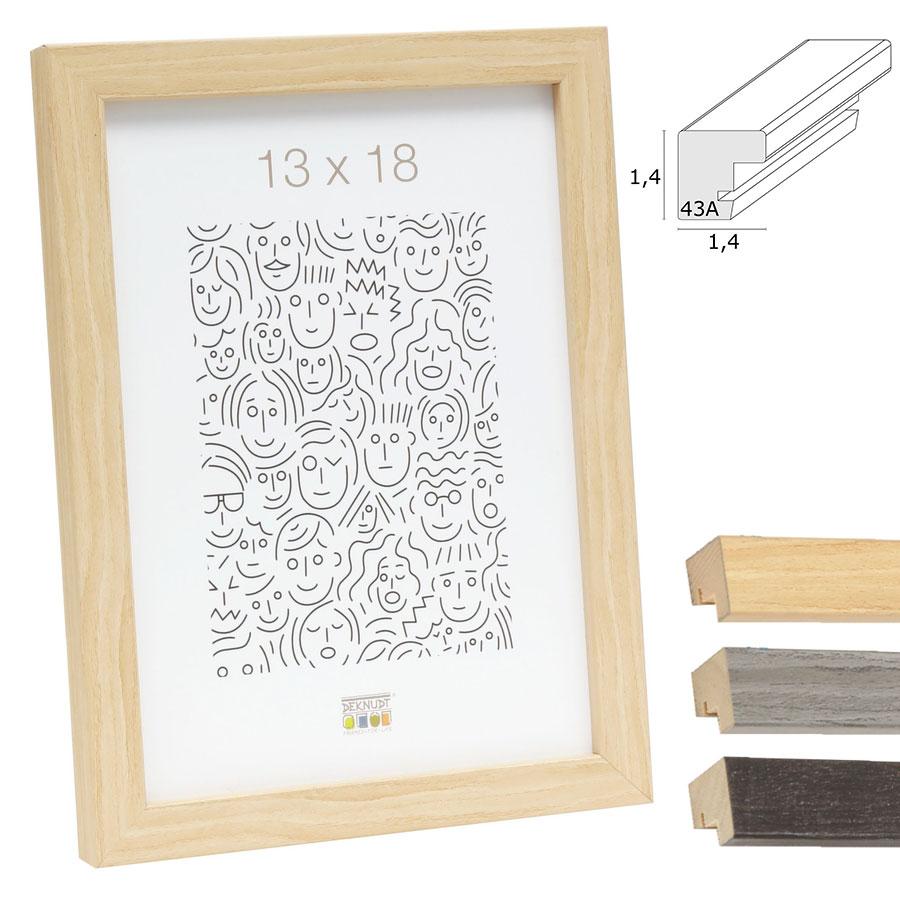 Schmaler Bilderrahmen aus Holz