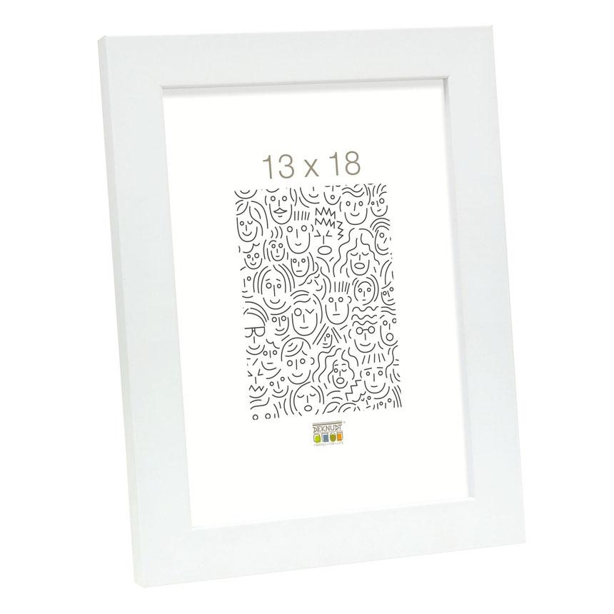 Holz-Bilderrahmen Corswarem Weiß
