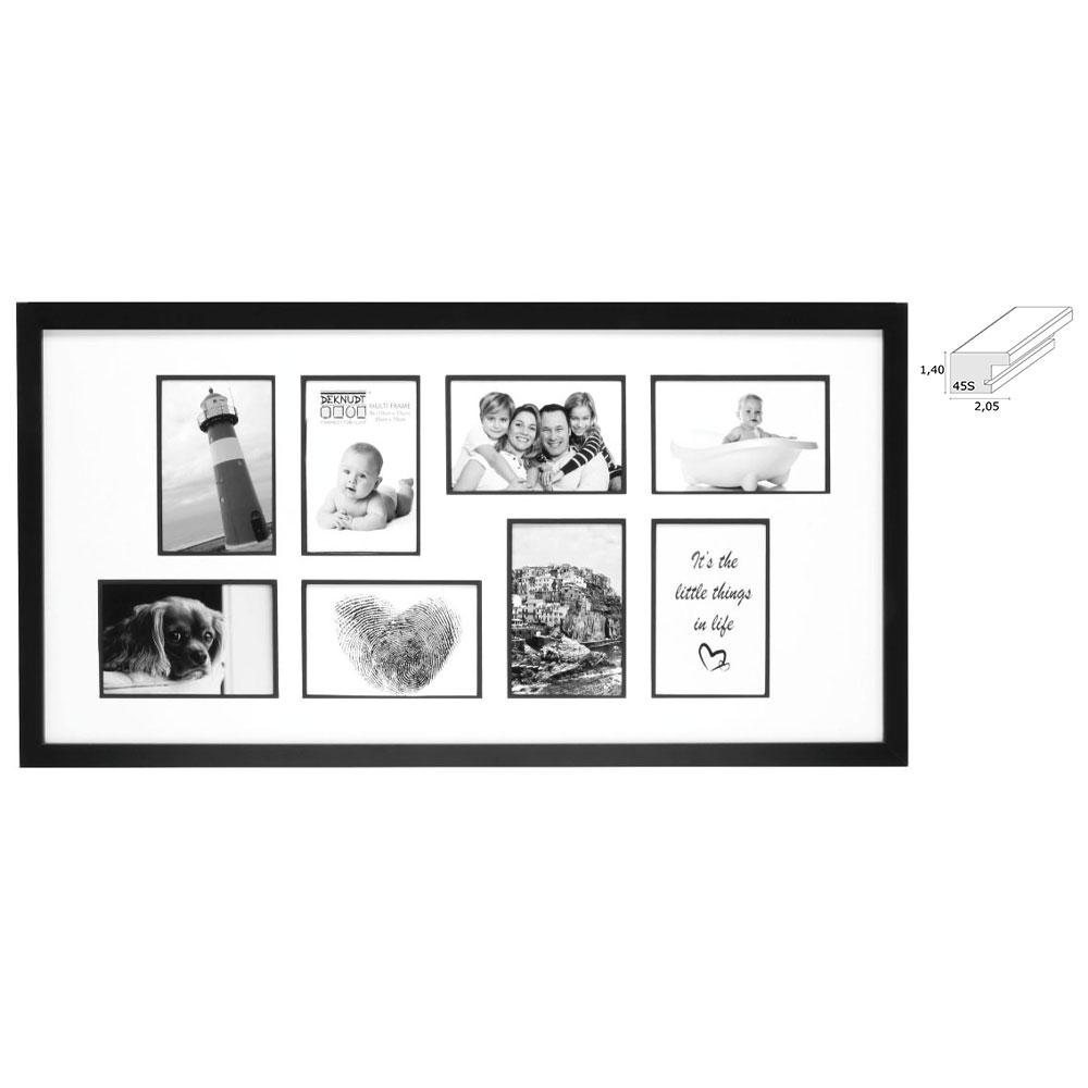 Galerierahmen Corswarem für 8 Bilder
