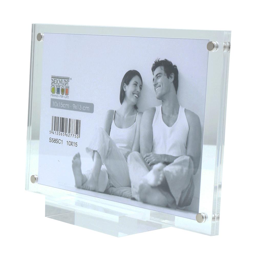 Transparenter Magnetrahmen 10x15 cm