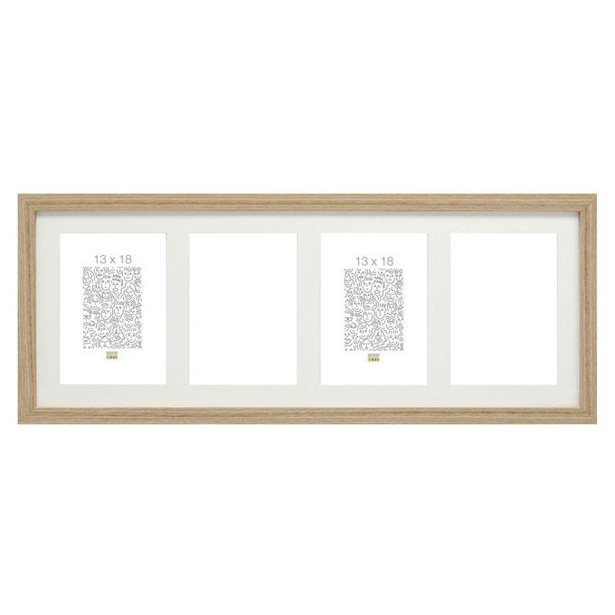 deknudt 4er galerierahmen habay vertikal 10x15 cm. Black Bedroom Furniture Sets. Home Design Ideas