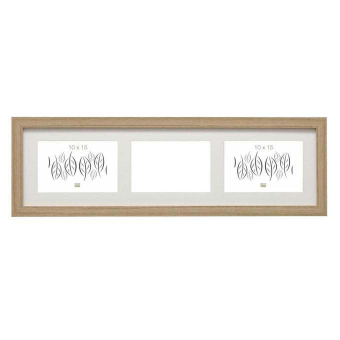 deknudt 3er galerierahmen habay horizontal 10x15 cm. Black Bedroom Furniture Sets. Home Design Ideas