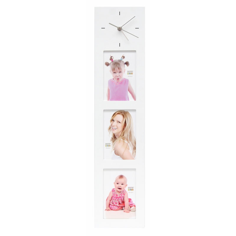 Galerierahmen mit Uhr