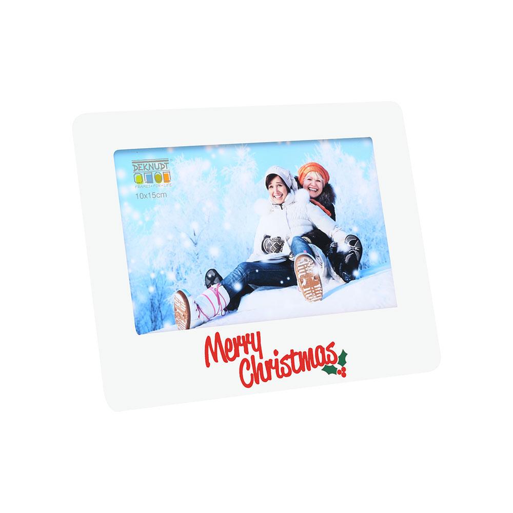 Weihnachtsbilderrahmen Weiß