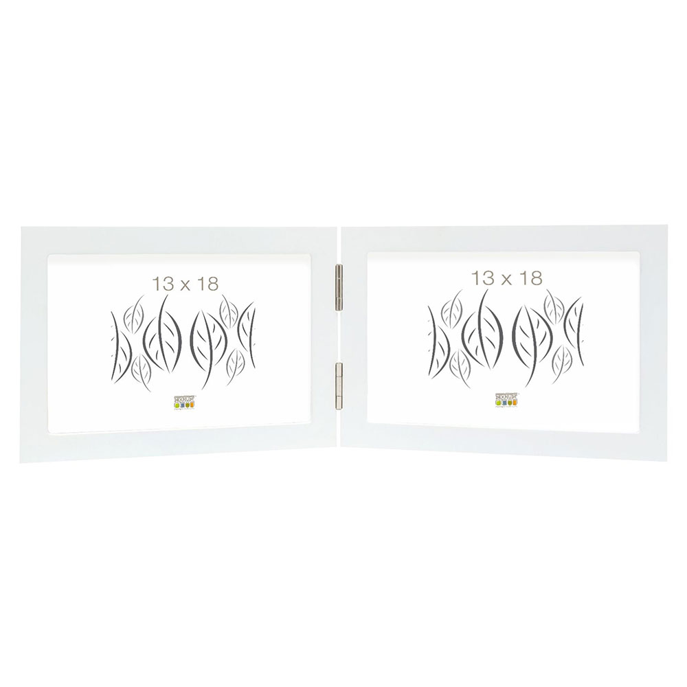 Doppelrahmen Rubens Weiß