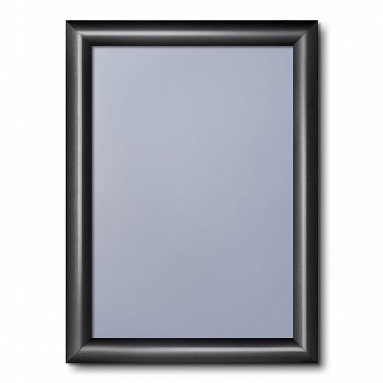 Klapprahmen Color, 25 mm Tiefschwarz RAL 9005 21x29,7 cm (A4)