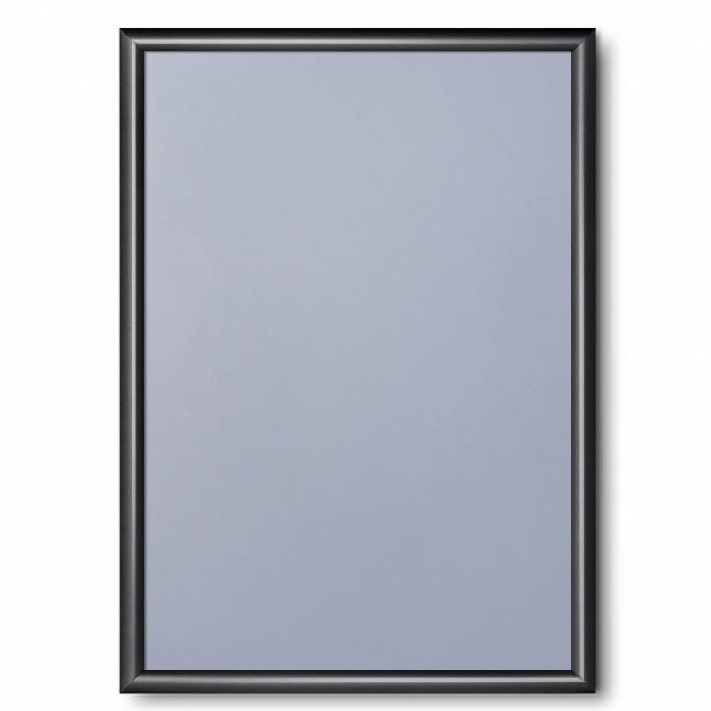 Klapprahmen Color, 25 mm Tiefschwarz RAL 9005 42x59,4 cm (A2)