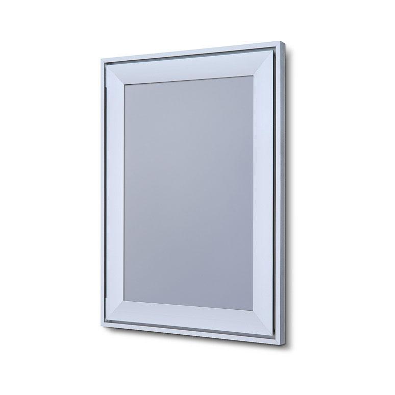 Design Klapprahmen Compasso Silber eloxiert 21x29,7 cm (A4)