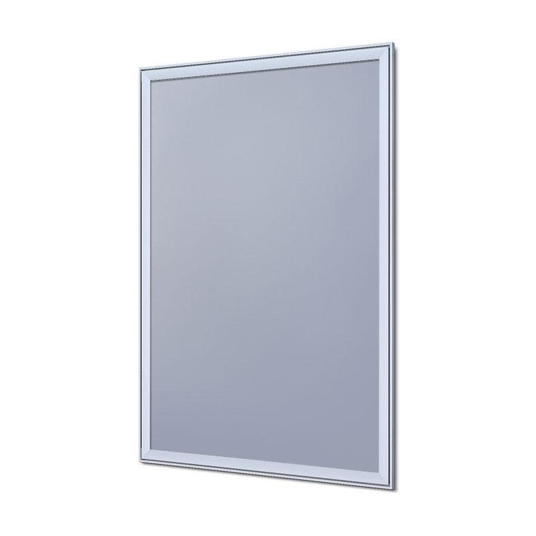 Design Klapprahmen Compasso Silber eloxiert 70x100 cm