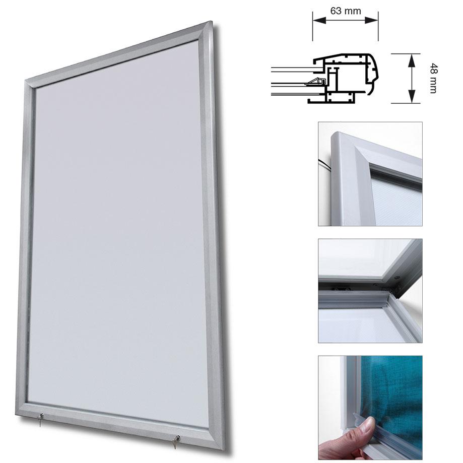 LED Plakatrahmen für den außenbereich