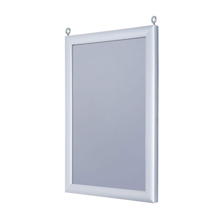 Doppelseitiger Einschubrahmen aluminium 21x29,7 cm (A4)