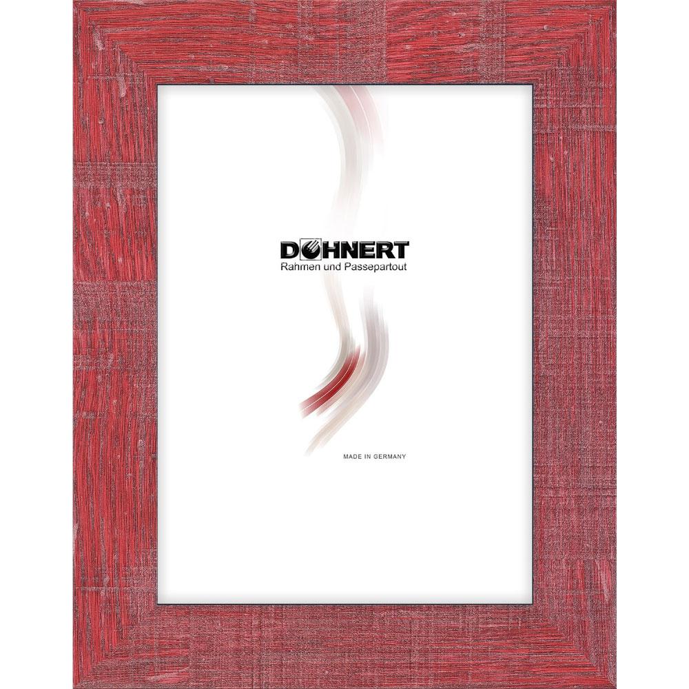 Kunststoffrahmen-Zuschnitt Archway Rot