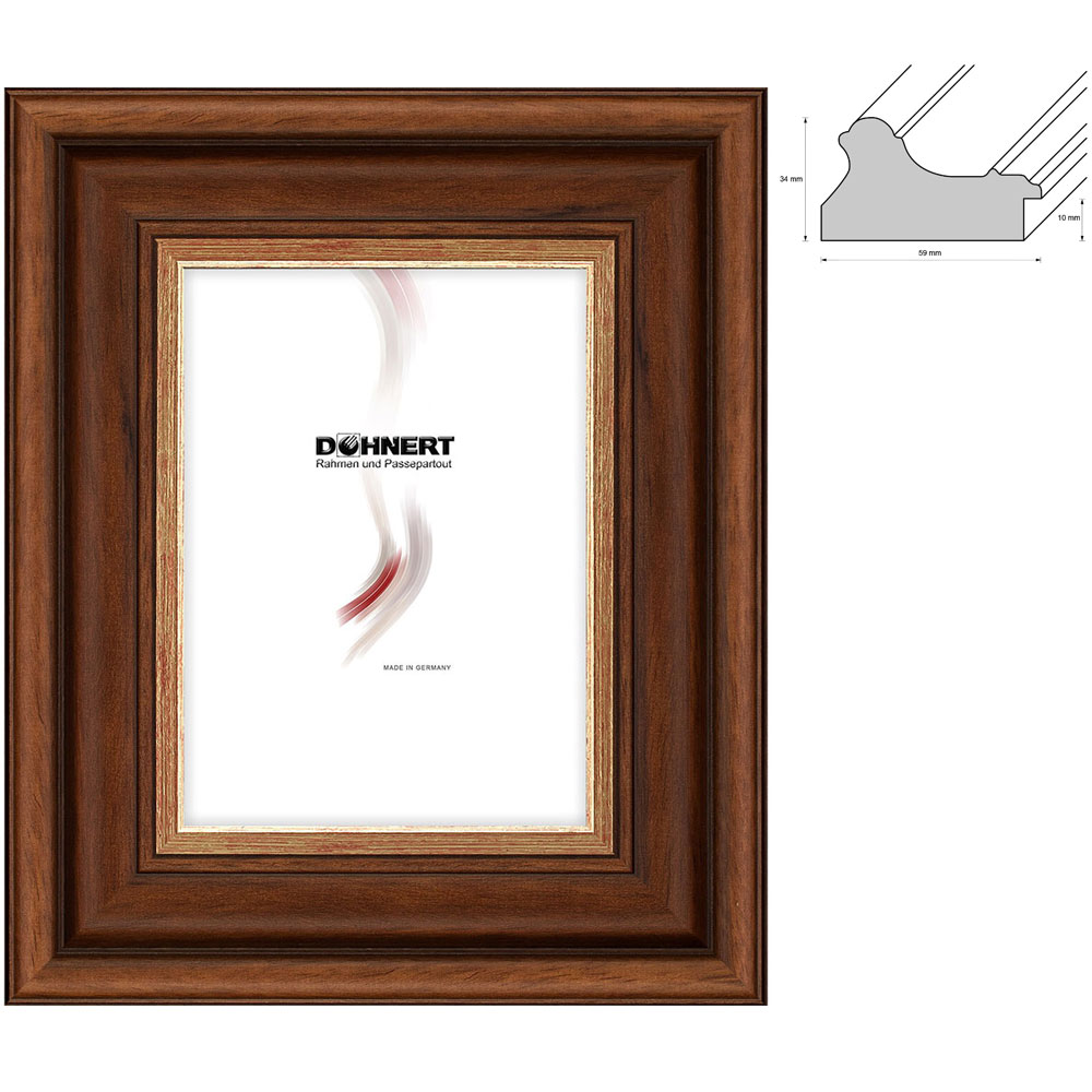Barockrahmen-Zuschnitt Southgate
