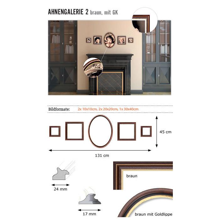 """Wandgalerie """"Ahnengalerie 2"""""""