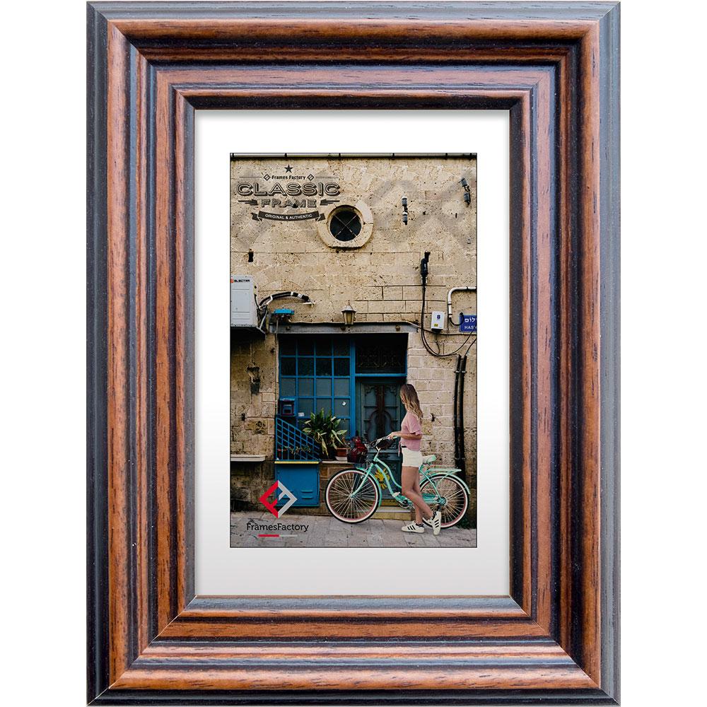Antik Bilderrahmen in 13x18 cm bis 50x70 cm Klassischer Holz Foto Rahmen